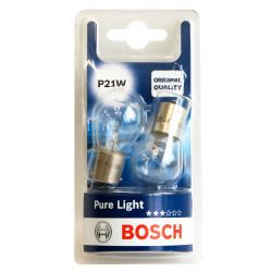 Автомобилна крушка Bosch P21W / 21W / 2 броя