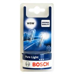 Автомобилна крушка Bosch W5W / 5W / 2 броя