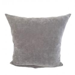 Декоративна възглавница с цип 43х43см / сива
