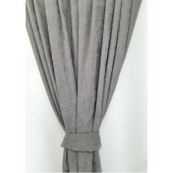 Завеси Тера 140 х 240 см / 2 броя / сиви