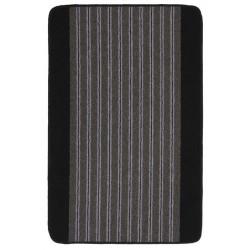 Пътека Delta 67 cm / сива основа с черен бордюр