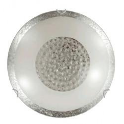 Плафон Bless ф30 сребро+кристал