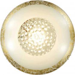 Плафон Bless ф40 злато+кристал