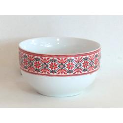 Керамична купа за супа с фолклорни мотиви Т13-48А