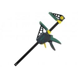 Дърводелска автоматична стяга с пластмасови челюсти Wolfcraft / 150 мм