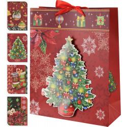 Коледна подаръчна торбичка 3D ABB300080