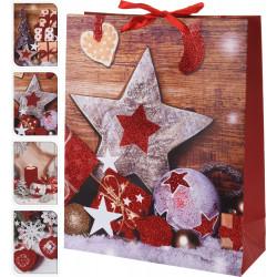 Коледна подаръчна торбичка / хартия ABB300100
