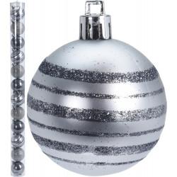 Коледни топки Winter 12x50мм / полипропилен ACP100060