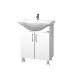 Долен шкаф за баня с умивалник Макена Моника