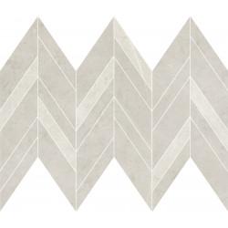 Декоративни плочки Manzila Grys Chevron Mix Mosaic Matt 25,5x29,8