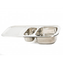 Мивка за кухня Алпака 1000х500х180 дясна SD10050RR