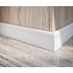 PVC перваз Siera 80 / бял / 2.5m