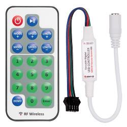 RF мини контролер за дигитална LED лента 5-24V DC