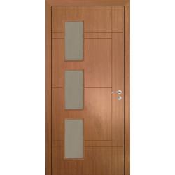 Интериорна врата 90/200 Светъл дъб със стъкло