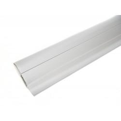 PVC перваз с кабел канал SALAG  SG56/41 - СРЕБЪРЕН