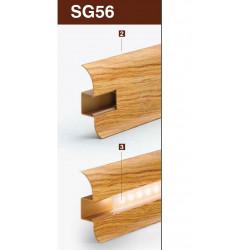 Светлопропусклива капачка за перваз SG56 / 2.5m