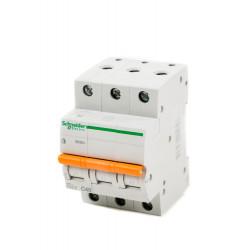 Автоматичен прекъсвач E63N+ 3P 40A крива C 6kA