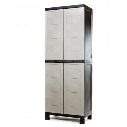 Битов PVC шкаф 65х37х173см, до 20 кг на рафт