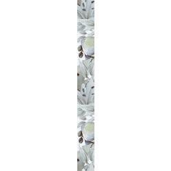 Плочки за стенна декорация / фриз IJ 50 x 500 Виола цветя зелени