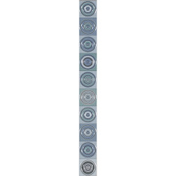 Плочки за стенна декорация / фриз IJ 50 x 500 Универсал кръг зелени