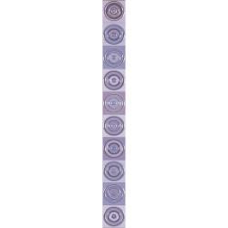 Стенни декоративни плочки фриз IJ 50 x 500 Универсал Кръг лилави
