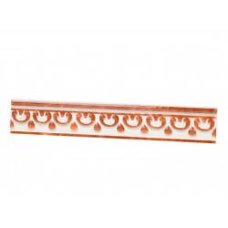 Стенни декоративни плочки фриз 40 x 250 Роман кафяви