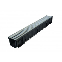 Канал Self-Line 100x101x1000 с поцинкована решетка 1.2 мм