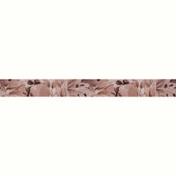Плочки за стенна декорация / фриз IJ 50 x 500 Виола цветя кафяви