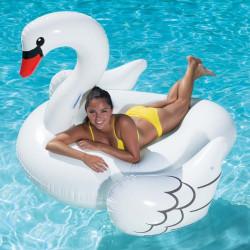 Надуваем лебед гигант бял Polygroup