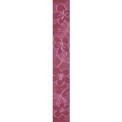 Плочки за стенна декорация / фриз 70 x 500 Елемент 3 лилави лукс