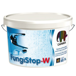 Латекс за влажни помещения FungiStop W  9.5л + Грунд 2,5л