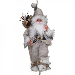 Дядо Коледа с въже 30 см