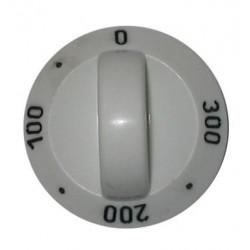 Електрически ключ за печка тип врътка / градуси / бял