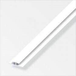 PVC профил двойно Т-образен 3.5 бял