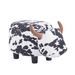 Табуретка ракла във формата на крава