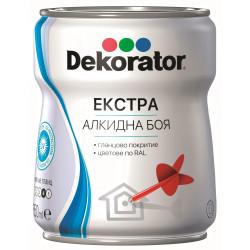 Екстра алкидна боя Декоратор RAL 8004 медно кафява 650ml