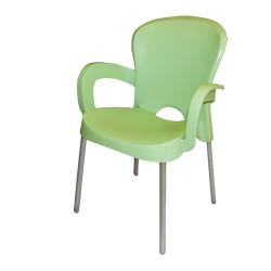 Градински стол Platin зелен