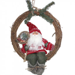 Коледен венец Дядо Коледа