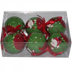 Коледни топки Снежко