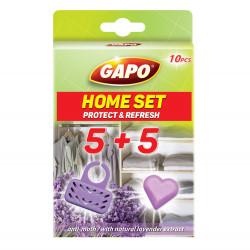 Комплект кошничка и таблетки против молци Gapo 10броя