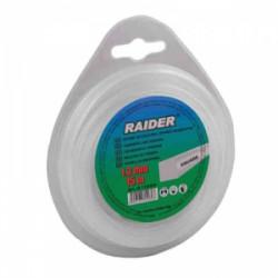 Квадратна корда за косачка тример RAIDER 1.30mm x 15m