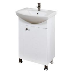 Долен шкаф за баня с мивка Макена Лазур