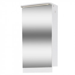 Горен шкаф за баня с мивка Макена Лео