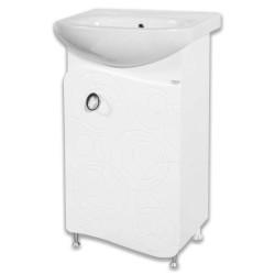 Долен шкаф за баня с мивка Бъбъл