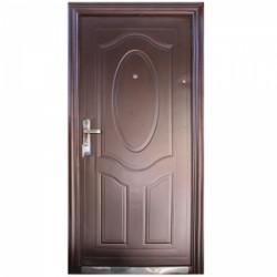 Входна метална врата шагрен 90/200 дясна