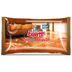 Мокри кърпи мебели Expertto 40 броя