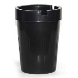 Ветроустойчив пластмасов пепелник Horecano конус 8xh11cm