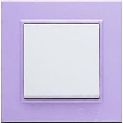 Рамка за електрически ключ Karea светлолилава