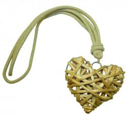 Декоративен шнур Сърце ратан
