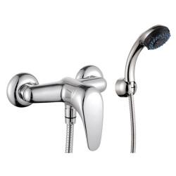 Стенен смесител за баня с душ Мелиса